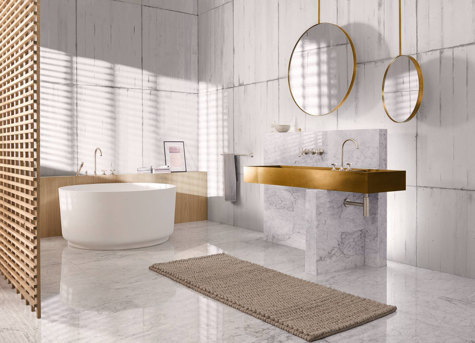 bathroom colors for 2020 - 860×551